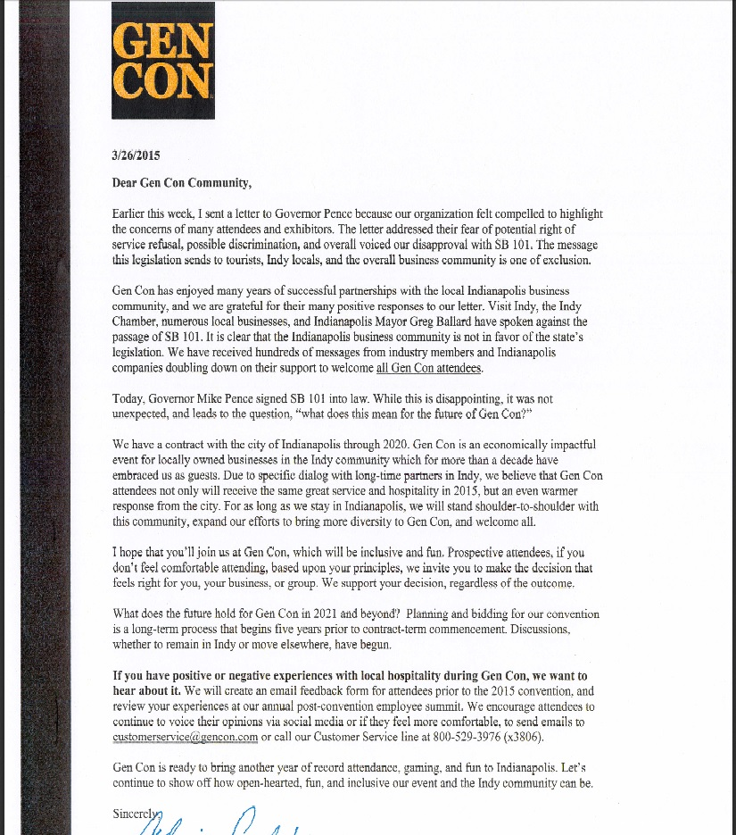 Gen Con Ceo Releases New Letter For Attendees  Ddo Players
