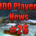 DDO Players News Episode 26 : A Chat With Cordovan Part Duex