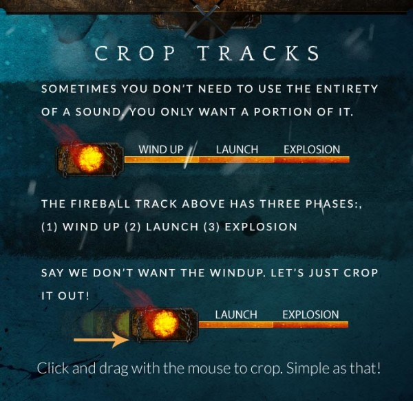 Mixer Tool - Crop-Tracks