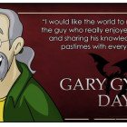 Celebrating Gary Gygax Day, Happy Birthday To The Late Gary Gygax