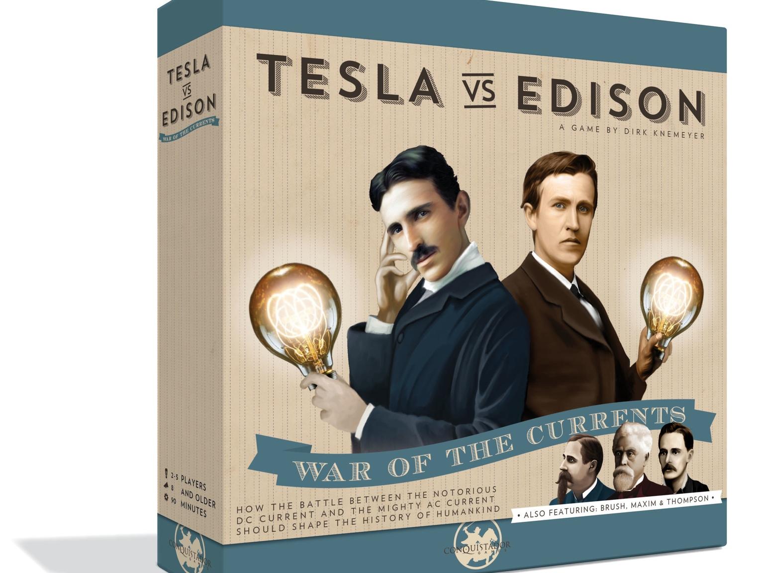 Amazon.com: Tesla vs. Edison: Toys & Games