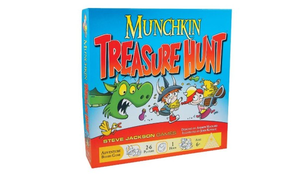 Munchkin-Treasure-Hunt