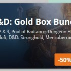 GOG Dungeons And Dragons Titles On Sale