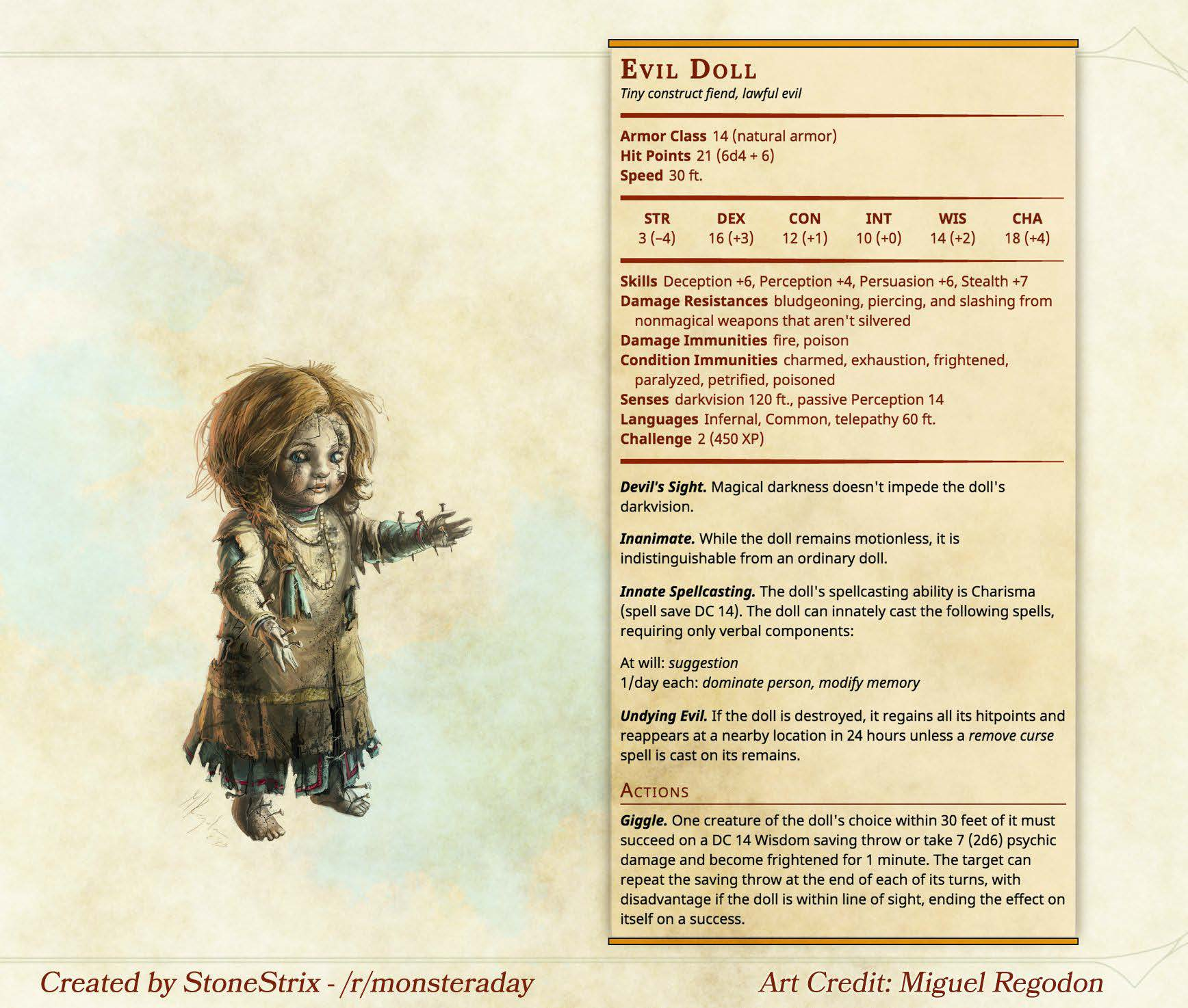 Monster A Day PDF | DDO Players