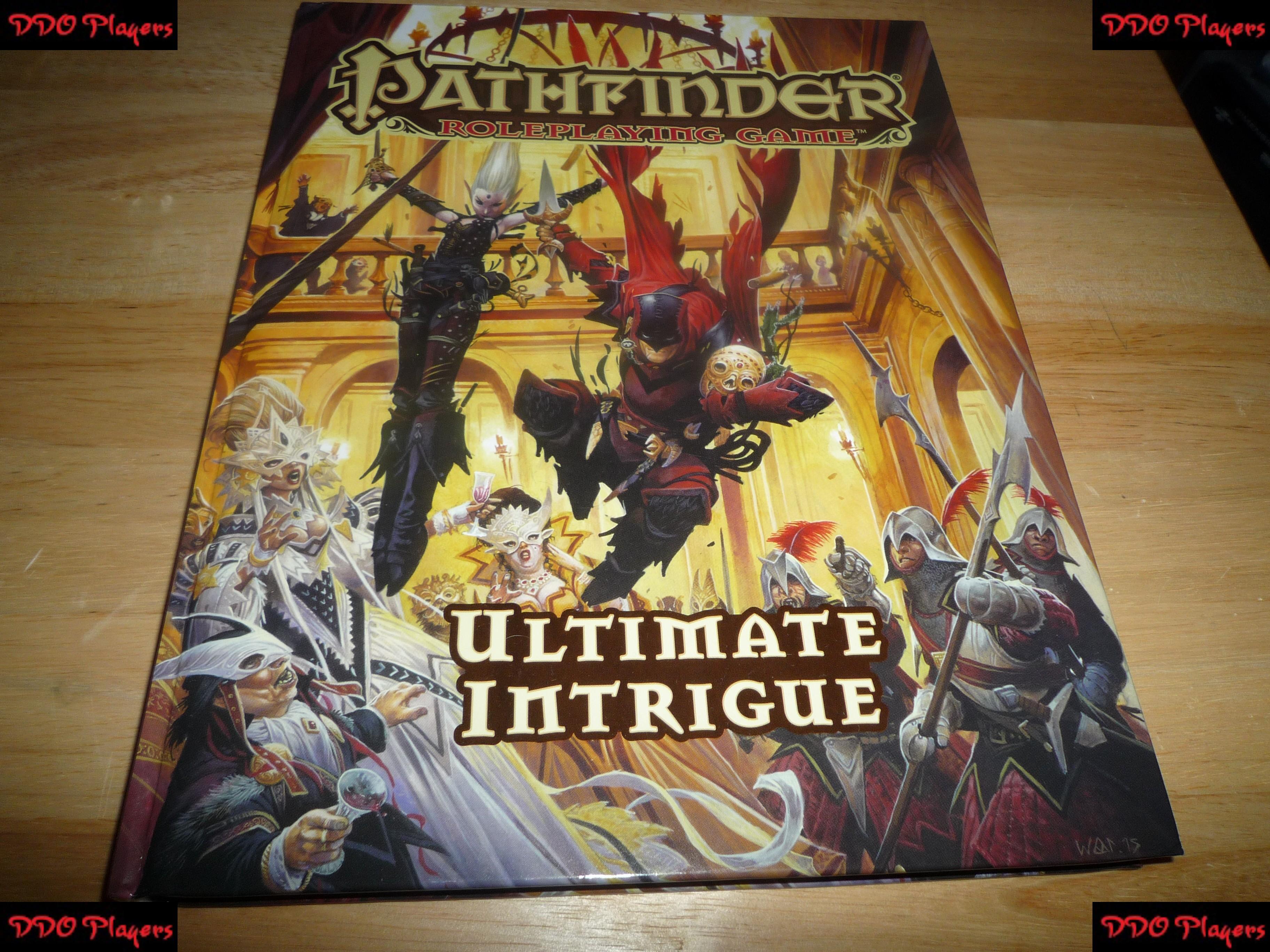 Ultimate pdf pathfinder intrigue