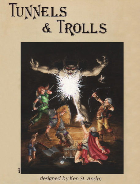 Tunnels & Trolls Rulebook 5th edition 1978