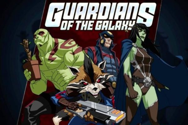 "ULTIMATE SPIDER-MAN - ""Guardians of the Galaxy"" - Spider-Man and Nova team up with The Guardian's of the Galaxy on a deep space adventure to save Earth from destruction. This episode of ""Ultimate Spider-Man"" premieres SUNDAY, July 21 (11:30 AM - 12:00 NOON ET/PT) on Marvel Universe on Disney XD. (MARVEL) GUARDIANS OF THE GALAXY"