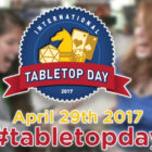 International Tabletop Day Promo Items Revealed