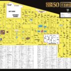 Gen Con 50 Exhibit Hall Map Released