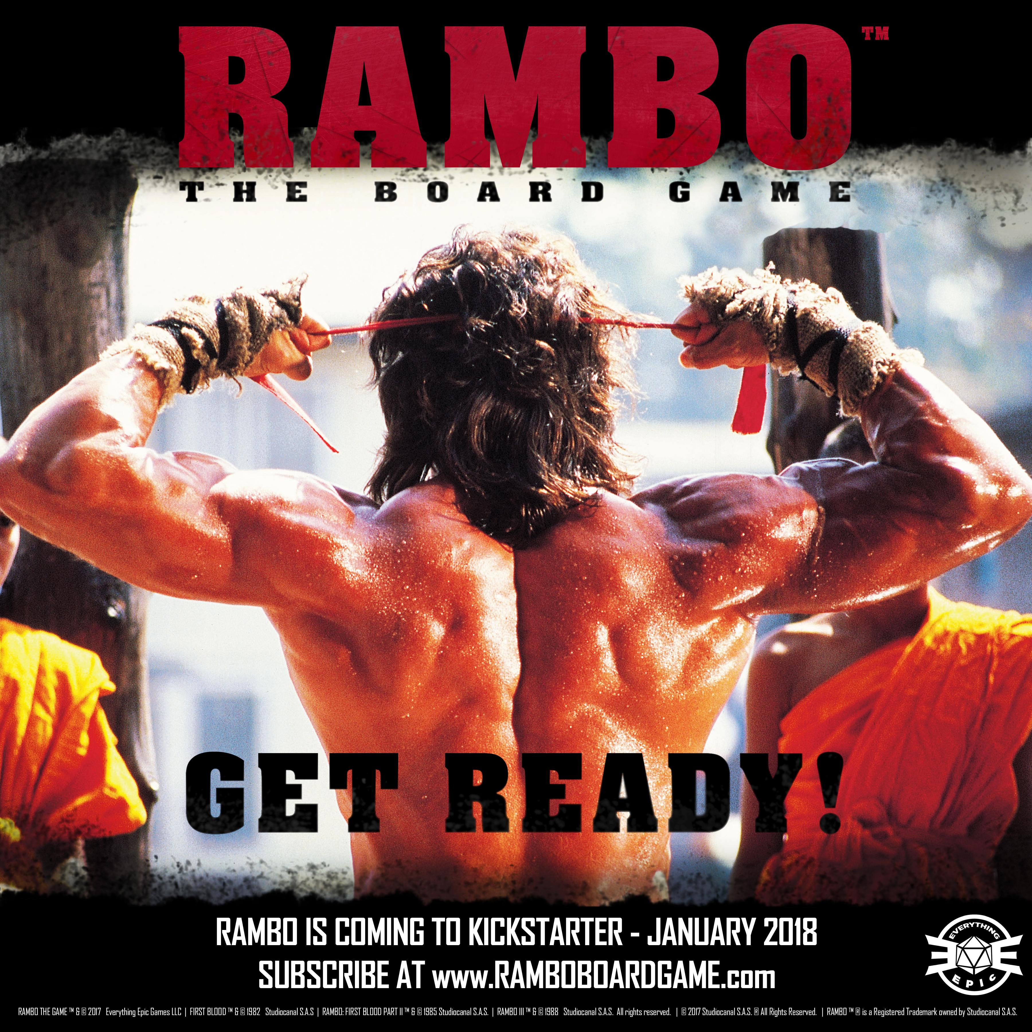 Rambo: the board game Coming Next Year