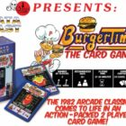 Burger Time: The Card Game On Kickstarter