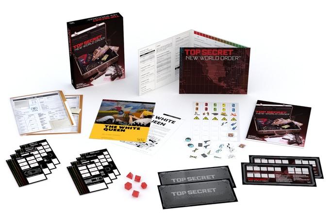 Top Secret: New World Order Kickstarter | DDO Players