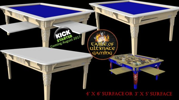 Table Of Ultimate Gaming Coming To Kickstarter Ddo Players
