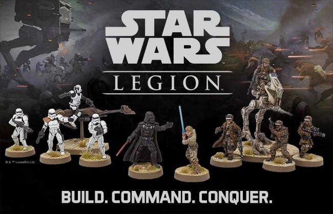 Fantasy Flight Games Announces Star Wars Legion Ddo Players