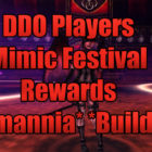 First Look At Mimic Festival Rewards