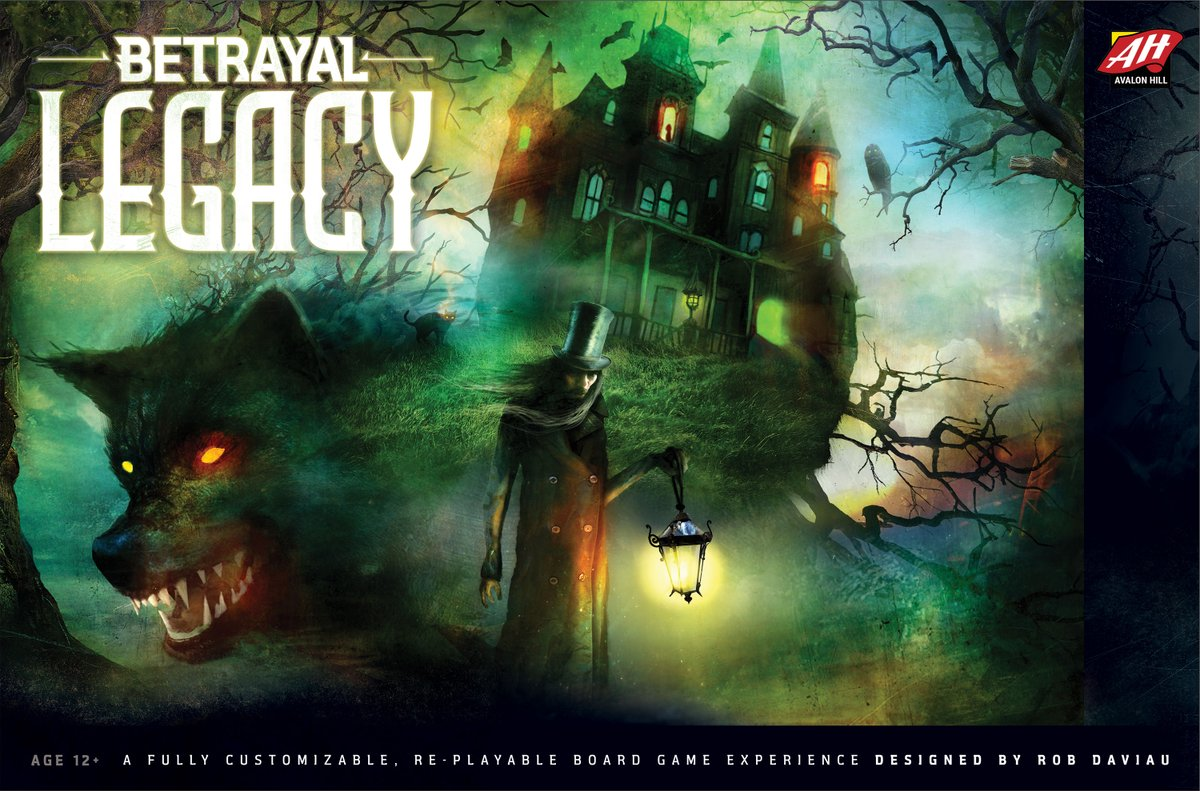 Betrayal Legacy Coming From Avalon Hill Ddo Players