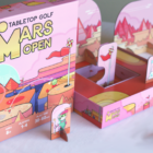 Mars Open: Tabletop Golf On Kickstarter