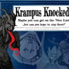 Krampus Knocked Card Game On Kickstarter