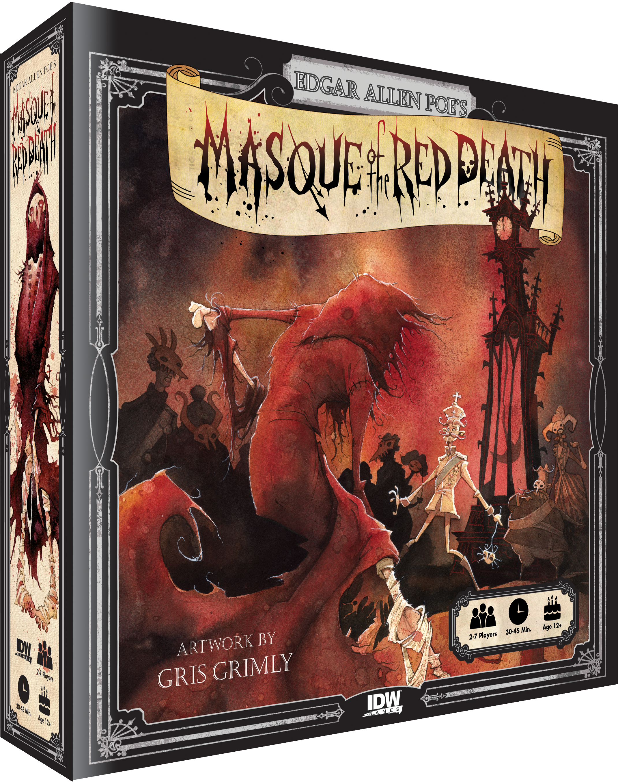 """the masque of the red death poe archetype Edgar allen poe poe, edgar allen such compelling stories as """"the masque of the red death"""" and """"the fall of he became an archetype for all."""