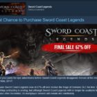 Last Chance to Purchase Sword Coast Legends