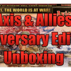 Axis & Allies Anniversary Edition Unboxing