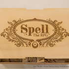 Spell: The RPG & Spellbook Engraved Wood Box Set On Kickstarter