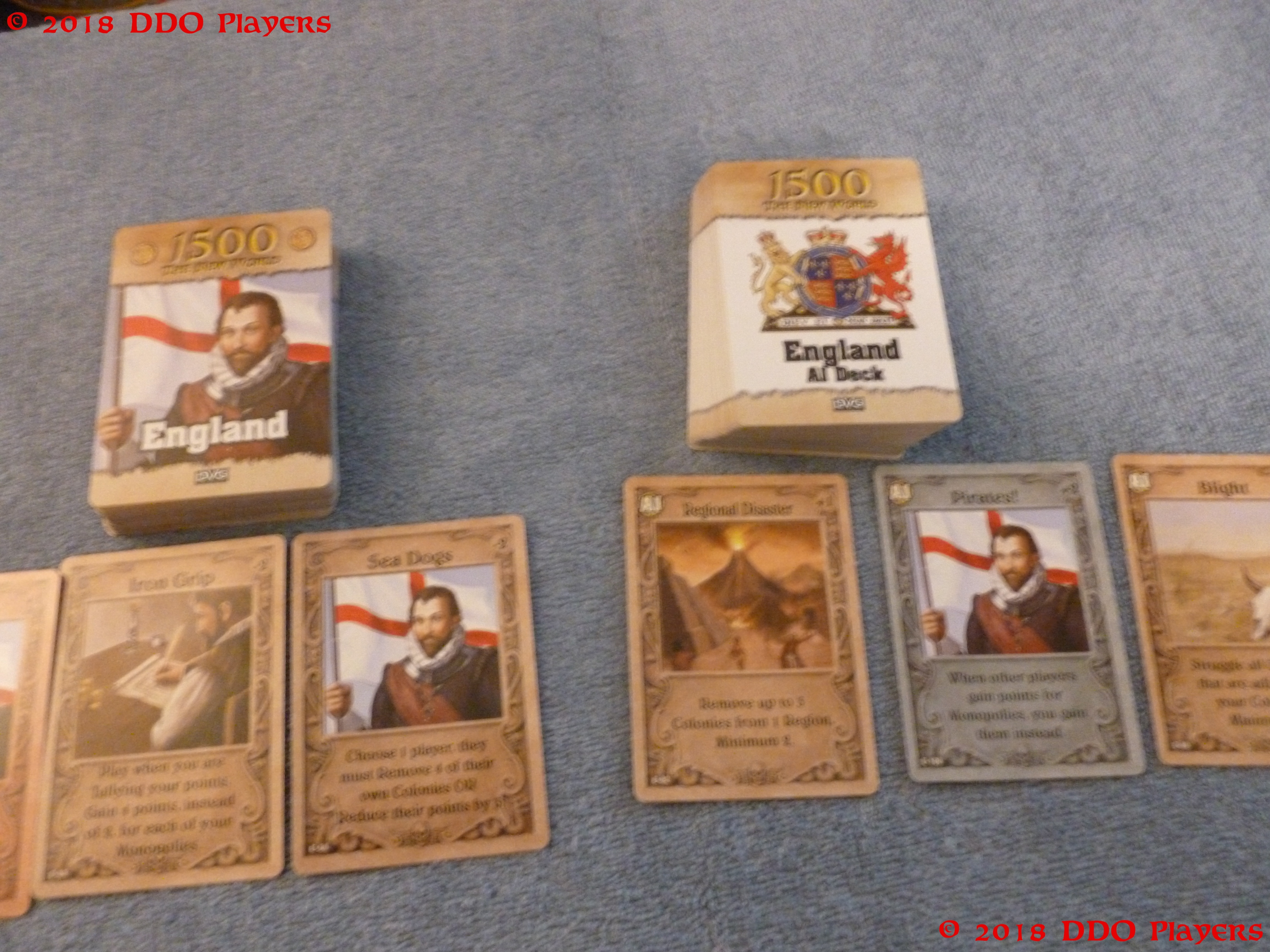 1500: The New World Card Game Review   DDO Players