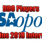 DDO Players Origins 2018 USAopoly Interview