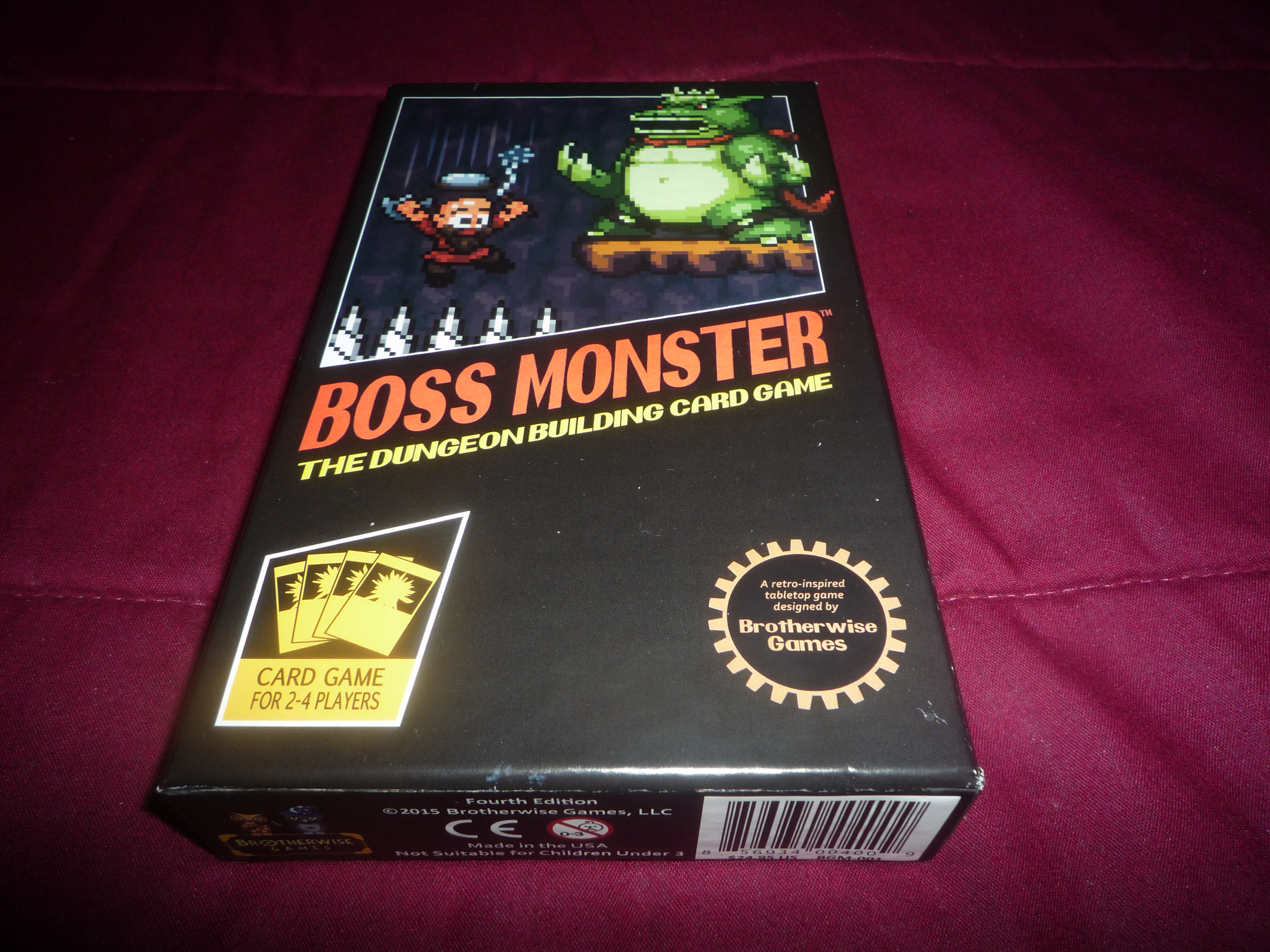 Boss Monster Card Game Review | DDO Players